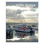 Buoys small poster