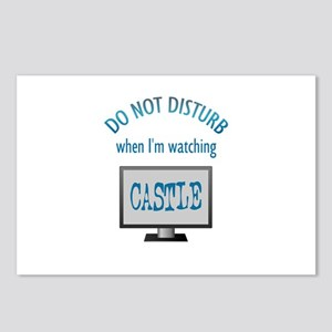 Do Not Disturb Watching Castle Postcards (Package