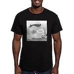 Scuba Death Men's Fitted T-Shirt (dark)