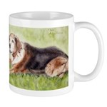 Mug of dog watercolor