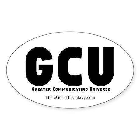 GCU Travel Sticker (Oval)