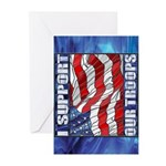 I Support Our Troops GreetingCards(Pkg6)