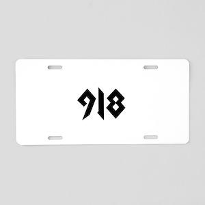 918 Aluminum License Plate