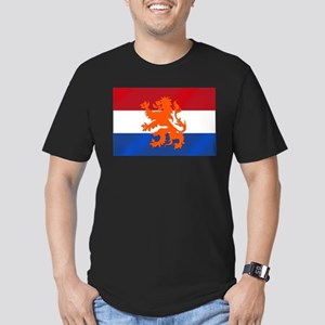 Holland Lion Men's Fitted T-Shirt (dark)