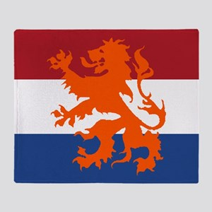 Holland Lion Throw Blanket