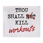 Thou Shall Kill Throw Blanket