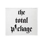 Total Package (girl) Throw Blanket