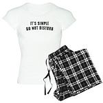 Caps Women's Light Pajamas
