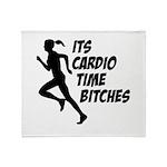 Cardio time... Throw Blanket