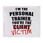 Victim Throw Blanket