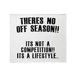 No Off Season Throw Blanket