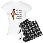 Do these weights Women's Light Pajamas