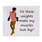 Do these weights Throw Blanket