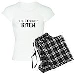 Gym is my Bitch Women's Light Pajamas
