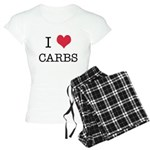 I Heart Carbs Women's Light Pajamas