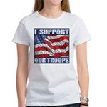 I Support Our Troops Women's T-shirt