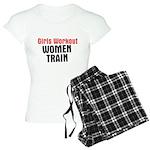 Girls workout women train Women's Light Pajamas