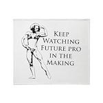 BB Future pro Throw Blanket