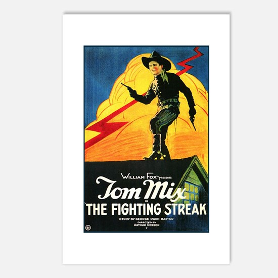The Fighting Streak Postcards (Package of 8)
