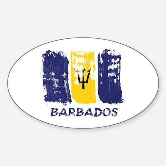 Barbados Sticker (Oval)