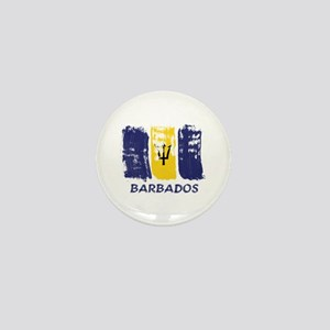 Barbados Mini Button