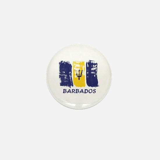 Barbados Mini Button