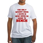 Only Issue - squats Fitted T-Shirt