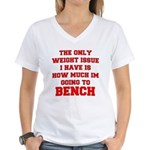 Only Issue - squats Women's V-Neck T-Shirt