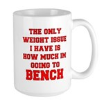 Only Issue - squats Large Mug