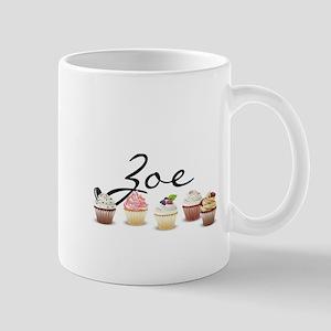 Cupcake Zoe Mug
