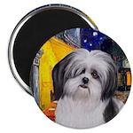 Cafe / Shih Tzu (A2) Magnet