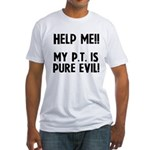 Help Me!!!! Fitted T-Shirt