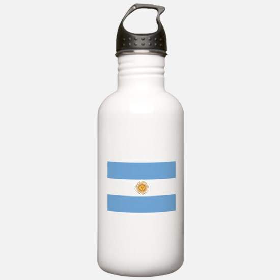 Argentina Flag Water Bottle