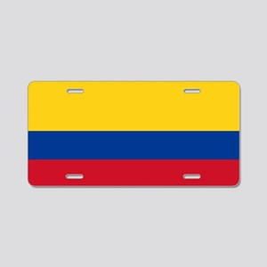 Flag of Colombia Aluminum License Plate
