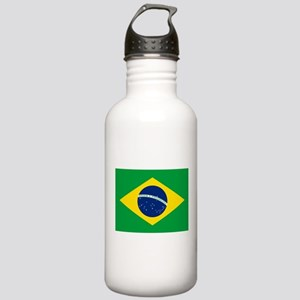 Brazil Flag Stainless Water Bottle 1.0L