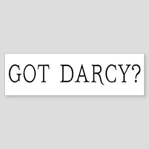Got Darcy Jane Austen Sticker (Bumper)