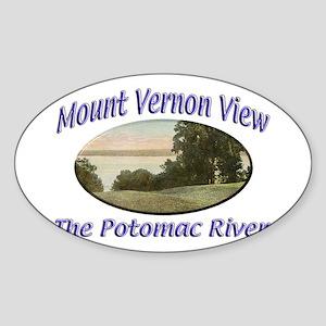 Potomac River Sticker (Oval)
