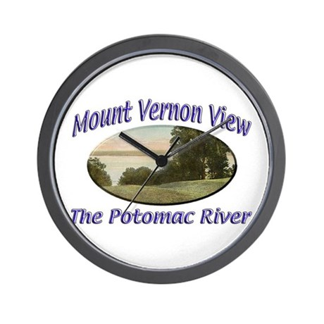Potomac River Wall Clock