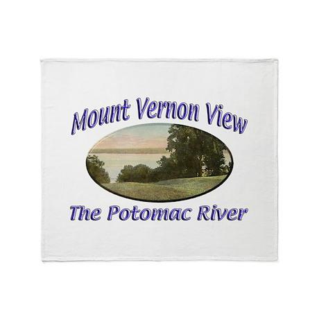 Potomac River Throw Blanket