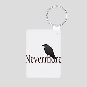 Nevermore Aluminum Photo Keychain