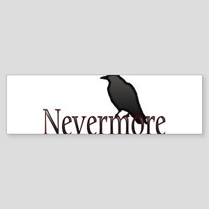 Nevermore Sticker (Bumper)