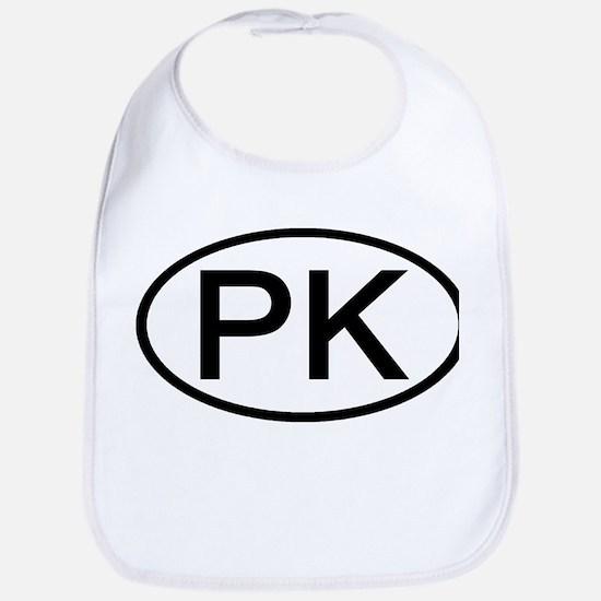 PK - Initial Oval Bib