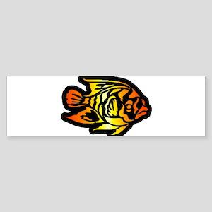 Gold Fish Sticker (Bumper)