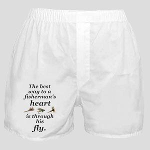 """Fisherman's Heart"" Boxer Shorts"