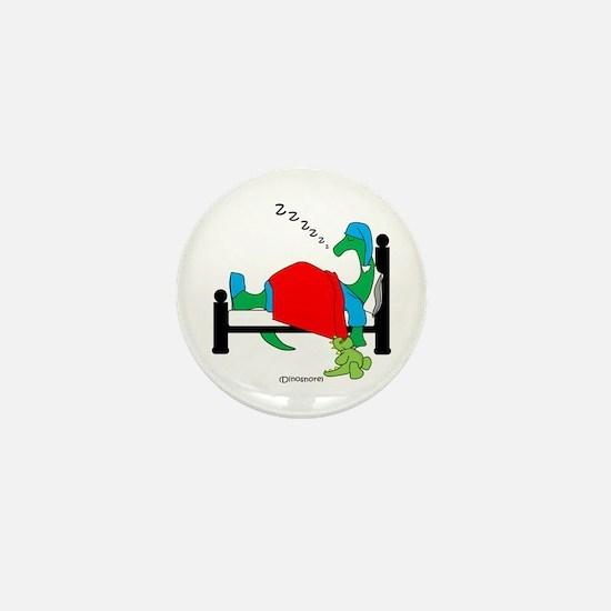 Dinosnore Mini Button