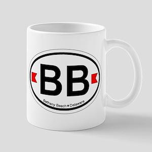 Bethany Beach DE - Oval Design. Mug