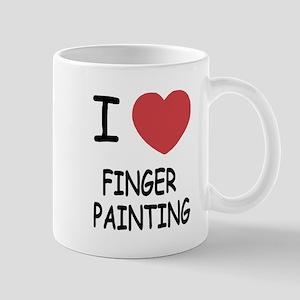 I heart finger painting Mug