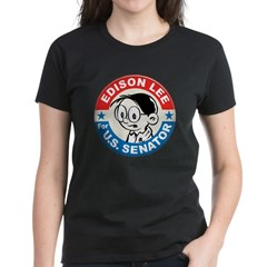 Edison for Senator Women's Dark T-Shirt