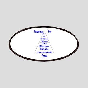 Pennsylvanian Food Pyramid Patches