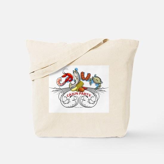 Cajun Party Tote Bag